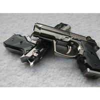 Wholesale 10pcs Portable Luxury Mini Gun Shaped Butane Flame Gas Cigarette Lighter