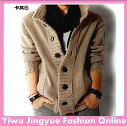 Wholesale 2013 brand men s sweater real wool cotton men s sweater men s wool sweater cardigan man