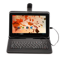keyboard case - Hot Selling Universal Inch Leather Keyboard Case Cover For quot Tablet PC MID with different color