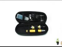 Hoteles de cigarrillo electrónico ego kits de Vivi Nova atomizador de 650mah 900mah 1100mah battey ego de la cremallera de la funda de transporte DHL Mezcla Libre de Órdenes Disponibles