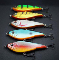 Wholesale 5pcs Megabait Pike Buster Jerk Fishing Lures Baits Mustad Hooks g mm