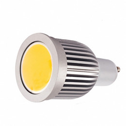 Wholesale Dimmable Non dimmable W GU10 COB LED Spot Lights Watt Bulbs Lamp Spotlights SMD Spotlight Bulbs WW CW CE ROSH Via Express