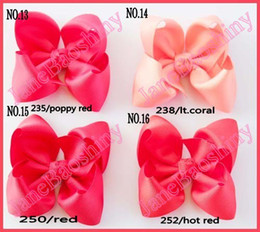 Wholesale Boutique hair bows baby hair bows