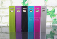 Wholesale 2600mAh Portable USB Universal External Battery Charger Power Bank Stick A21