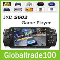 Wholesale JXD S602 inch Android4 Game Machine Tablet PC Handheld Device Capacitive Screen GB HDMI Camera Free DHL Shipping