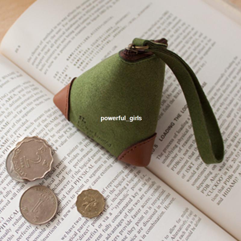 Мешочек для монет из кожи