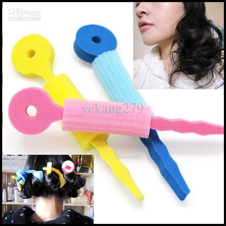 Wholesale Curling Irons - Buy Hair Curling Device Curlers Hair Sponge