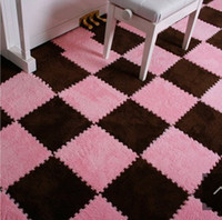 Wholesale Fashion Rubik s cube DIYcarpet rug magic carpet rug baby crawing mat bed room meeting room home decoration baby room