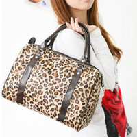 Wholesale Hot Selling New Fashion Korean Women Leopard Shoulder Handbag Winter Bag Tote BG98