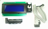 3d   Reprap Ramps V1.4 smart 20*4 LCD controller with adapter for 3D Printer