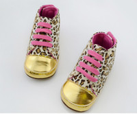 Lace-Up BOY;GIRL Spring / Autumn Baby girls shoes Leopard Toddler shoes soft sole baby Walkers Wear Comfortable kids Casual Shoes 6pcs lot