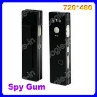 Wholesale 10pc Spy Chewing Gum Sized Camera USB Hidden Mini DV DVR Camcorder Video Audio Recorder Webcam EMS