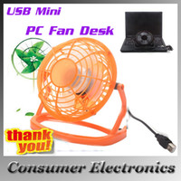 Wholesale USB Mini Desktop Power PC Laptop Fan Desk Table Cooling Fan for Laptop PC