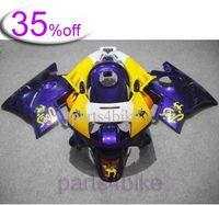 Wholesale OFF Purple yellow ABS Fairing for CBR600F2 Body Kit Fairing for Honda CBR600 CBR F2 Aftermarket M