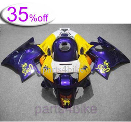 Wholesale OFF Purple yellow ABS Fairing for CBR600F2 Body Kit Fairing for Honda CBR600 CBR F2 Aftermarket M