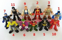 Wholesale 11style DC UNIVERSE BATMAN GREEN LANTERN THE JOKER BANE FISHER PRICE FIGURE TOY JQ8
