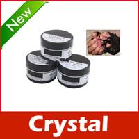 Full Natural Tips Square  Nail Tips New 30g Acrylic Crystal Polymer Powder for Nail Art Gift