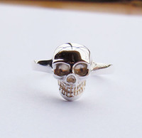Wholesale Sterling Silver Skull Ring All Sizes
