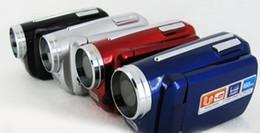 Wholesale 2015 Top Fashion Direct Selling Black Led Flash Light Camera Dv quot Digital Video Camcorder Dv139 best Christmas Gift