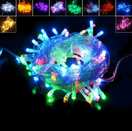 high quality 220V 8 different flash 200LED 20M string lights fairy Christmas lights holiday light fairy lamps add tail plug
