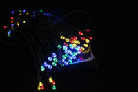 Solar yard decorations for christmas - sets Garden Yard Solar Powered LED RGB Colorful Nice String Lighting For Decoration