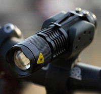Wholesale CREE Q5 LED Cycling Bike Bicycle Headlight Front Light MINI Torch with Mount