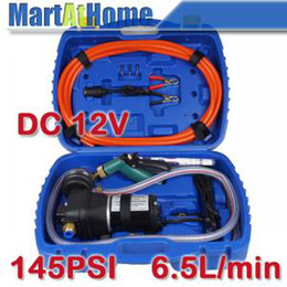 Wholesale Portabel PSI L min Car Wash Machine Automatic Washing Cleaning Equipment DC V V