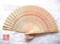 Wood wooden hand fan - Wooden folding fan Gift hand fan handy fan Sandalwood fan wedding fan bridal fan