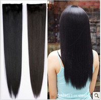 Wholesale mm straight hair slice hair extensions hairpieces wig