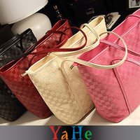 Wholesale 2013 New arrival YAHE brand womens shoulder handbags fashion tote messenger bags high quality leather bags for women WB3028