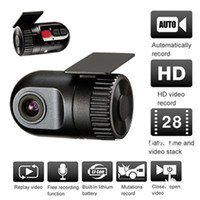 Wholesale car dvr HD P Smallest In Car Dash Camera Video Register Recorder DVR Cam G sensor