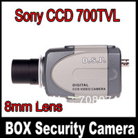 Wholesale 1 Sony CCD TVL Box Camera high Line mm CCTV Security Camera Surveillance