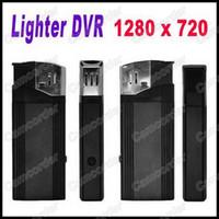 Wholesale HD P fps Mini DV Real Lighter Spy Hidden Camera Video Recorder Mini DV USB DVR Video Camcorder