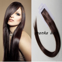 Wholesale Hot Brazilian Remy Human Skin Weft Hair Extensions Tape Hair straight Extensions Human Hair Extensions Tape in Hair