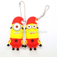 Wholesale 2pcs Full Capacity Cartoon Cute GB USB Flash Memory Drive Stick