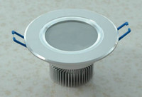 Wholesale 3W LED Downlight High Power Ceiling Downlights with leds Down Lighting WW CW NW Light Years Warranty Via Express LEDQOUNGA