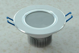 3W LED Downlight High Power Ceiling Downlights with 3leds Down Lighting WW CW NW Light 2 Years Warranty 20pcs lot--Via Express LEDQOUNGA