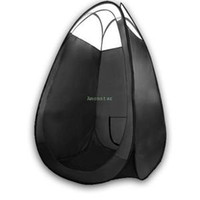 Wholesale Good Quality New Black Pop Up Tent Spray Tan Tanning Mobile Booth Sunless