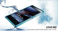 Cheap 0.7mm Ultra thin LOVE MEI Cross Aluminum Alloy Metal Bumper Frame Case For Sony Xperia Z Ultra XL39h 30PCS