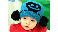 Boy Summer Wool Free Shipping Children Kids Top Baby Cap Baby Hats Baseball Cap Crochet Hat Children Knitted Cap Warmth hats Headwear 10pcs Lot Mixed