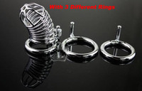 Wholesale Lowest price Jail House Chastity Device with different size rings The Snake Cage Chastity Device sex toys Adult toys BDSM