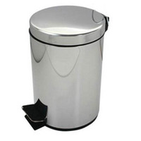 stainless steel trash bin - L Stainless Steel trash can waste can garbage bin garbage can Waste Bins