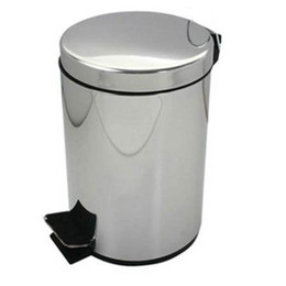 Wholesale L Stainless Steel trash can waste can garbage bin garbage can Waste Bins