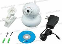 Tarjeta SD Nueva 32G TF -Card WPA Dual Monitor inalámbrico Wifi bebé Audio P2P Seguridad para el Hogar de Vigilancia Blanca IP CCTV Cámara MYY5294
