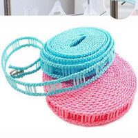 Wholesale Antiskid clothesline meters slip resistant clothesline clotheshorses rope for hanging clothes rope