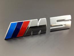 Wholesale Excellent new D M5 metal car sticker badge For BMW M E39 E60 E61A i i i GT sedan Chrome Plated Metal car emblem