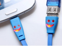 Cheap Smile Face Cable Best Micro USB cable