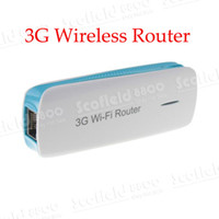 Wholesale 3G Mobile Wireless Router Roster Power Bank Broadband Power WIFI Hotspot Mini AP Triple For Android Smartphone WLAN