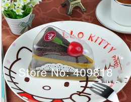 cake towel, in PVC box, valentine wedding christmas birthday gift towel cotton cake towel 20*20cm