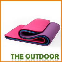 Wholesale 10mm thickened and lengthened NBR Yoga Mat exercise mats